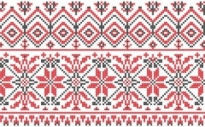 Free vector Vector background  consecutive knitting patterns vector background001