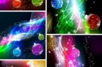 Free vector Vector background  Cool Christmas light background