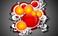 Free vector Vector Christmas  Cool Free Christmas Ornaments