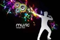 Free vector Vector background  Cool music design vector Background