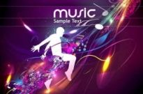 Free vector Vector background  Cool music vector Design