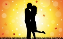 Free vector Vector misc  Couple Kissing