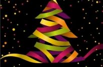 Creative christmas tree 04 vector Free vector 527.97KB