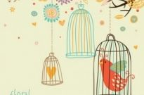 Free vector Vector misc  cute birds vector 6
