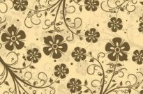 Free vector Vector background  Decorative Floral Vector Pattern