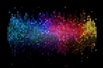 Free vector Vector background  Digital Sound Background