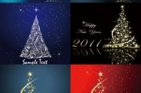 Dream bright christmas tree vector Free vector 5.94MB
