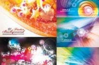 Free vector Vector background  Dream Colorful background Vector
