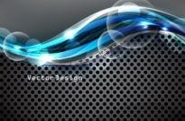 Free vector Vector background  dynamic cool background design vector 1