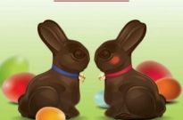 Free vector Vector background  Easter Bunnies Vector Graphic