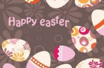 Free vector Vector background  easter egg background illustrator 01 vector
