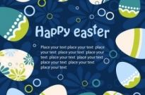 Free vector Vector background  easter egg illustration background 02 vector