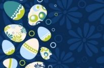 Free vector Vector background  easter egg illustration background 03 vector