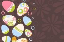 Free vector Vector background  easter egg illustration background 04 vector