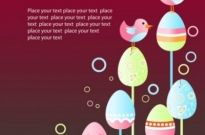 Free vector Vector background  easter egg illustration background 05 vector