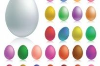 Free vector Vector misc  Easter Eggs Set 2