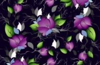Free vector Vector background  Elegance Floral Pattern Background