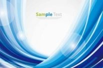 Free vector Vector background  Elegant Blue Abstract Background