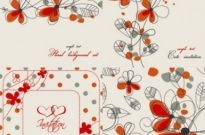 Free vector Vector background  elegant floral background pattern 02 vector