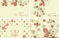 Free vector Vector background  elegant floral background pattern 04 vector
