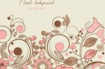 Free vector Vector background  elegant floral background pattern 05 vector