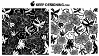Free vector Vector trust to nature  European Art Deco Floral Vectors