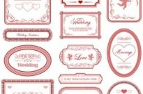 Free vector Vector pattern  europeanstyle love pattern border vector