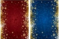Free vector Vector background  exquisite christmas background vector