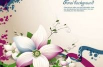 Free vector Vector background  exquisite floral design background 03 vector