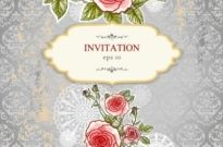 Free vector Vector background  exquisite handpainted floral background 04 vector