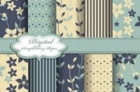 Free vector Vector background  fabrics Pattern Background