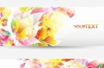 Free vector Vector background  Fantasy flowers background