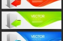 Free vector Vector banner  fashion banner design vector 2 arrow