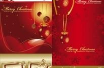 Free vector Vector background  festive christmas background vector