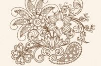 Free vector Vector pattern  fine line issued on pattern 04 vector