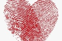 Free vector Vector Heart  Fingerprint Heart Vector Graphic