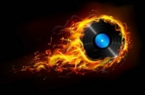 Free vector Vector background  Flame Vector background