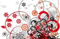 Free vector Vector abstract  Floral Abstract Vector Background Graphic