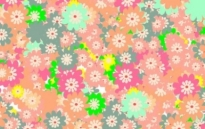 Free vector Vector floral  Floral colorful background