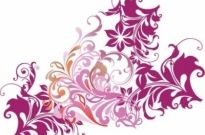 Free vector Vector floral  Floral Element Vector Art
