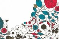 Free vector Vector background  Floral Flower Vector Background