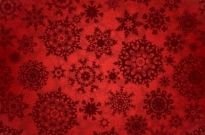 Free vector Vector background  Floral flowers pattern red background