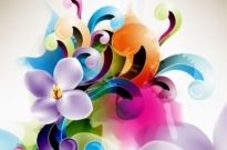Free vector Vector flower  Floral Ornament Vector Illustration