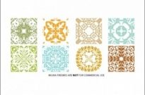 Free vector Vector flower   								Floral Patterns