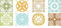 Free vector Vector floral  Floral Patterns