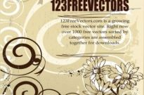 Free vector Vector floral  Floral Vector Background