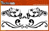 Free vector Vector flower  Flourishes
