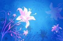 Free vector Vector background  Flower Background Vector Graphic