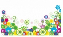 Free vector Vector flower  Flower footer border