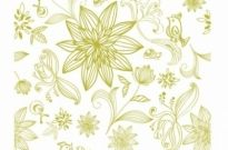 Free vector Vector pattern  Flower pattern Background